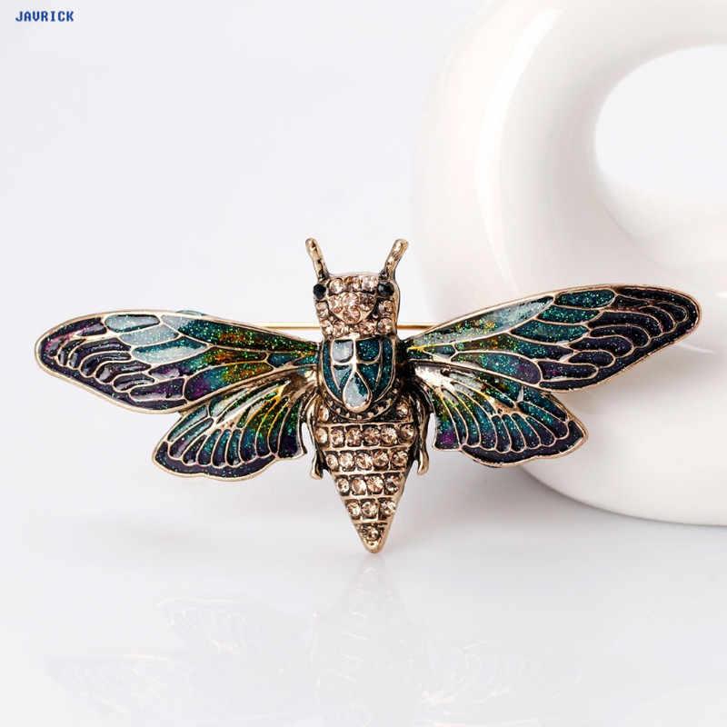 JAVRICK Винтажная брошь в виде пчелы античный насекомое рюкзак для одежды штифты корсажа значки