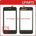 "1pcs/lot New Original 4.0"" For Explay Onyx Touch Screen Digitizer Sensor Front Glass Lens Black +Free Shipping Tracking Code"