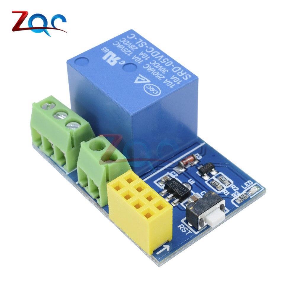 ESP8266 ESP-01S ESP01 S 5V WiFi Relay Module for Arduino ESP01S Things Smart Home Remote Control Switch Phone APP (no ESP-01S)