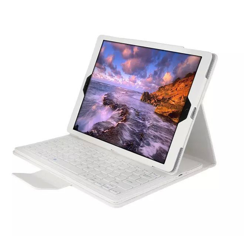 Bluetooth keyboard Case Cover For ipad 2017 2018 ABS split keyboard holster For ipad Air 1 Embossed keyboard For ipad Air 2 bags (6)