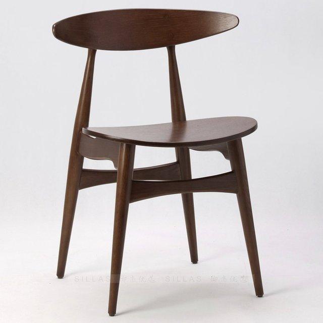 Scandinavo mobili in legno bianco quercia noce nero sedie ikea di design danese minimalista - Mobili design scandinavo ...