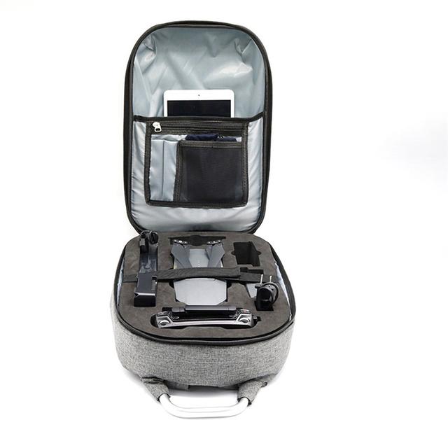 Hard Shell Carrying Backpack bag Case Waterproof Anti-Shock For DJI Mavic Pro Futural Digital MAY2