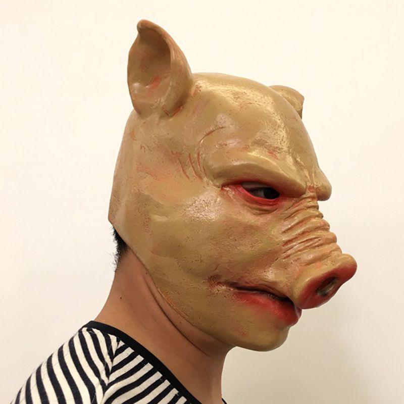 Хэллоуин вечерние Косплэй вечерние личность смешная футболка ужас маска для головы костюм маска для вечеринки - 4
