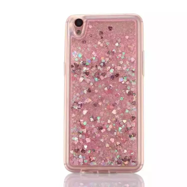 low priced 63b55 81ae8 Bling Glitter Dynamic Quicksand star Liquid Silicone soft Back Cover case  for OPPO F1s Plus R9s R7S A33 A37 A57 A39 -in Fitted Cases from Cellphones  & ...
