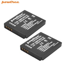 2Packs 3.6V 1400mAh  Li-ionCamera Battery For Panasonic DMW-BCF10E DMW BCF10 BCF10 DMC-FS12 DMC-FX60 z1 L20 цена в Москве и Питере