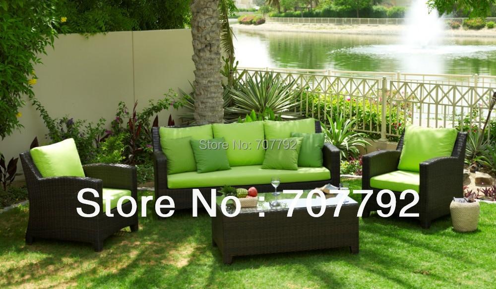 New Design Cheap Modern Patio Furniture-in Garden Sofas