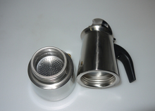 2/4/6/9/12 cups High quality Moka coffee maker/moka pot,Espresso coffee pot stainless steel moka coffee machine YH101