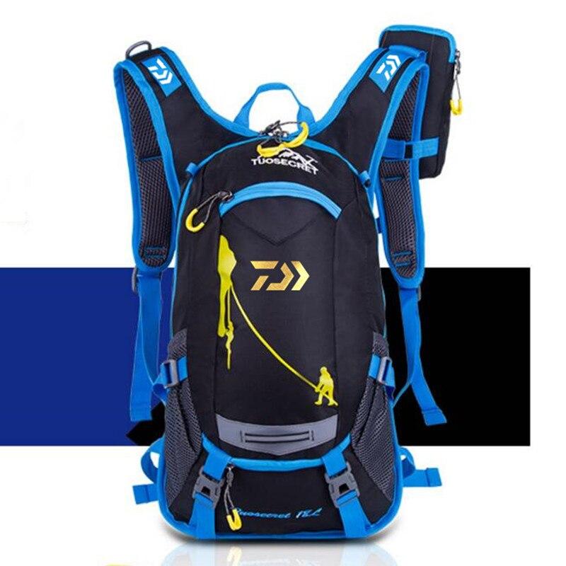 Новая сумка для рыбалки Daiwa, водонепроницаемый тактический рюкзак, сумка для рыбалки, рюкзак для альпинизма, сумка для улицы, мужская и женск...
