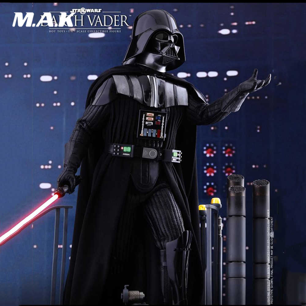 For Collection 1 6 Full Set Action Figure Star Wars Episode V The Empire Strikes Back Darth Vader Figure Model For Fans Gifts Aliexpress