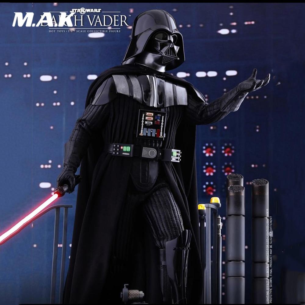 For Collection 1/6 Full Set Action Figure Star Wars Episode V The Empire Strikes Back Darth Vader Figure Model for Fans Gifts 1 6 female girl full set action figure star wars the princess leia clothes set