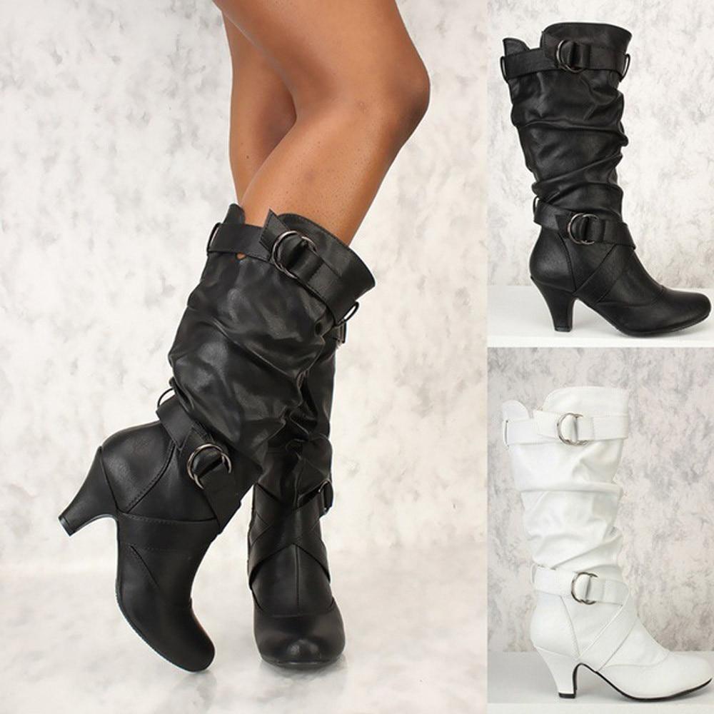 100% QualitäT Mode Sexy Frauen Über Knie Stiefel High Heel Lange Oberschenkel Stiefel Schuhe Stiefel Frauen Botas Mujer Dropshipping Feine Verarbeitung