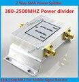 Melhor preço!!! 2 Way SMA Female Celular Signal Booster Poder Divisor Splitter 380 ~ 2500 MHz para GSM CDMA 3G