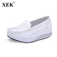 Plus Size 35 40 Summer Women Flat Platform Shoes Woman White Nursing Shoes Cut Out Loafers