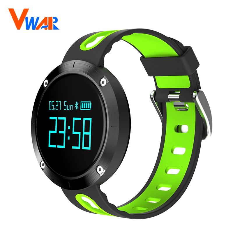 Vwar T1 Smart Bracelet Blood Pressure Heart Rate Monitor IP68 waterproof Call reminder Activity Tracker Smart