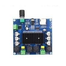 2 × 100 10w の Bluetooth 5.0 TDA7498 デジタルパワーアンプオーディオアンプモジュールサポート TF カード AUX XH A105