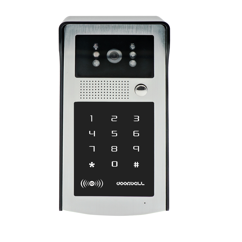 FREE SHIPPING New Night Vision Waterproof Outdoor RFID Code Keypad Doorbell Camera In Stock