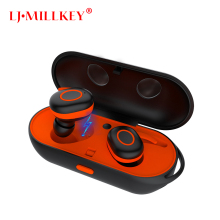 New TWS Wireless Waterproof Bluetooth Earphone In-ear Sport Headset Magnetic Charging Box Hi-Fi Stereo Handsfree Earbuds YZ111