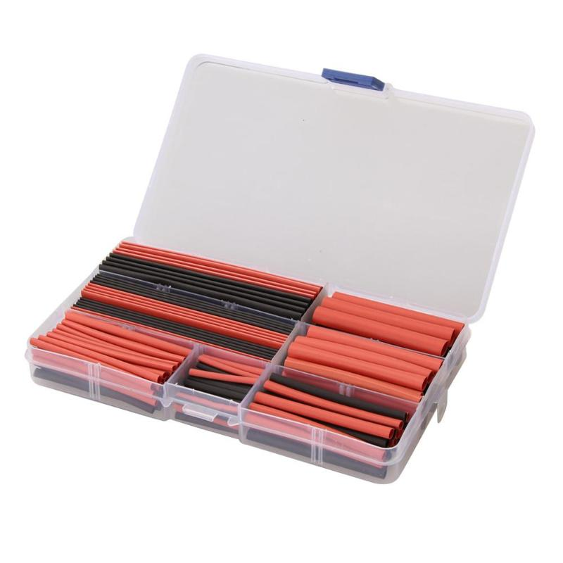 150Pcs Polyolefin Halogen-Free Heat Shrink Tubing Tube Sleeving Wire Cable shrinkable Tube Sleeving Wire Cable Kit