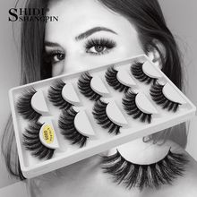 5 Pairs eyelashes thick 3d mink lashes handmade eye lashes false eyelashes natural long mink eyelashes for makeup cilios 3d mink