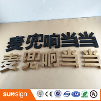 Custom Metal Sign Type 3d Stainless Steel Letters