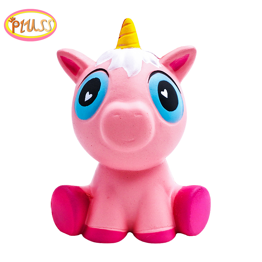 Squishy Unicorn Animals Toy Squishies Big Mochi Squeeze Soft Pink Pig Antistress Children Slow Rising Squishies Toys