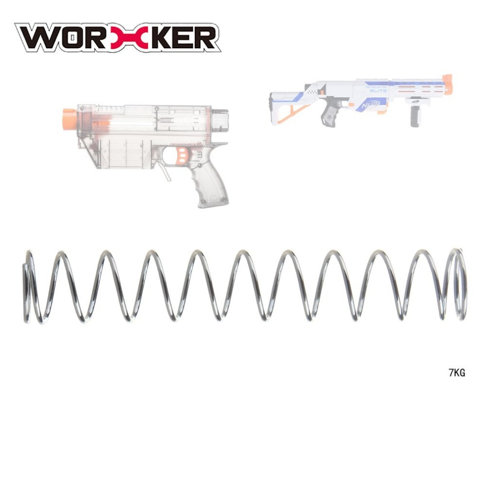 WORKER Modification Upgraded Spring For Nerf N-Strike Elite Retaliator Children Toy Gun Supplies Easy Installation 7/9/12KG