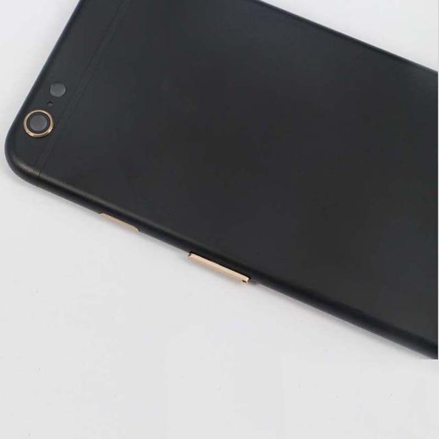 Для iPhone 6 6 plus 6 s 6 s плюс Назад Корпус Батареи Door Обложка Середина Рамка + Золото ЛОГОТИП Ассамблеи Высокого Качества