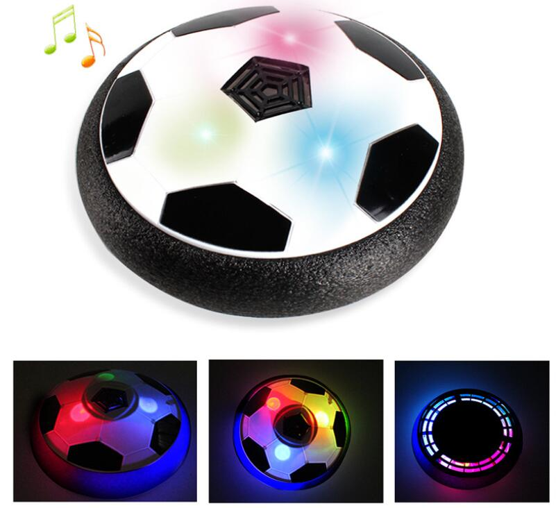 Wholesale For Children Indoor Electric Air Cushion Suspension Football Soccer Toy With Flash Light