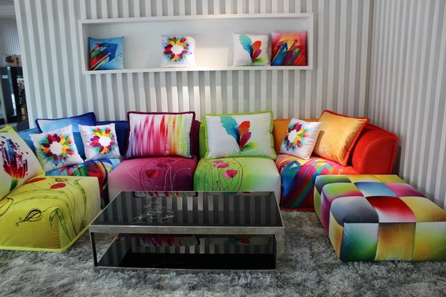 Incroyable Color Combinations Of L  Shaped Sofa Corner Sofa Living Room Furniture IKEA  Brand Fashion Simple