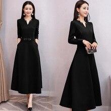 Long Sleeve Maxi Dresses Plus Size