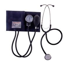 Медицинский измеритель кровяного давления, измеритель манжета тонометра, стетоскоп, комплект, дорожный сфигмоманометр