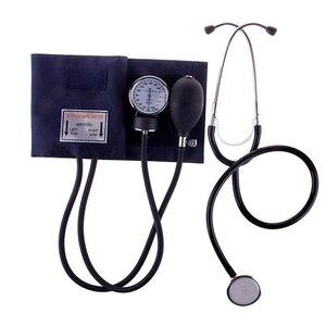 Image 1 - Monitor de presión arterial médica medidor manguito de tonómetro conjunto de estetoscopio esfigmomanómetro de viaje