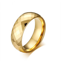 Direct Supply Of High Quality Tungsten Steel Jewelry Ring Ring Tungsten Steel Men S Ring TCR