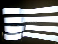 2inch Width 100m Length T C Backing Class1 Accessory Sewing Material Reflective Sew Fabric Tape For