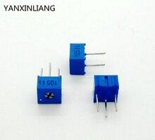 10 Шт./лот 3362P-1-501LF 3362 P 501 500 ом Подстроечный Резистор Триммер Потенциометр Переменный резистор новый оригинальный