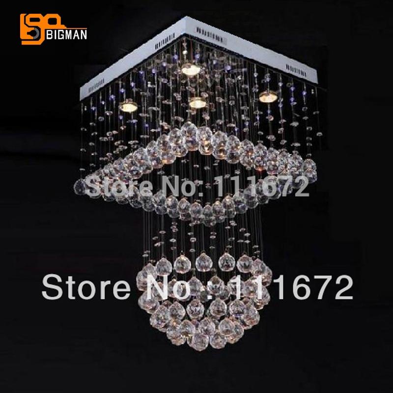 New square desgin crystal modern chandeliers led ceiling fixtures new square desgin crystal modern chandeliers led ceiling fixtures luxury home lighting aloadofball Choice Image