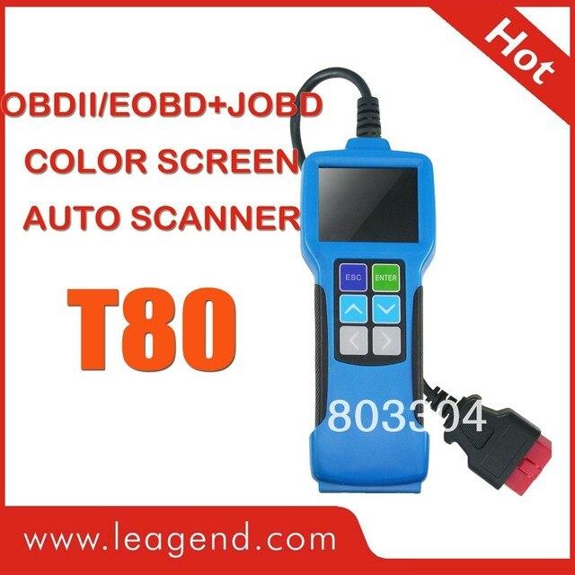 OBDII/EOBD+JOBD Highten Diagnostic Scan Tool T80-----Color-screen auto scanner