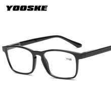 2ad24aebea Fashion Square Reading Glasses Men Women HD Resin Lens Presbyopic  Prescription Eyeglasses Hyperopia 1.5 +2.0