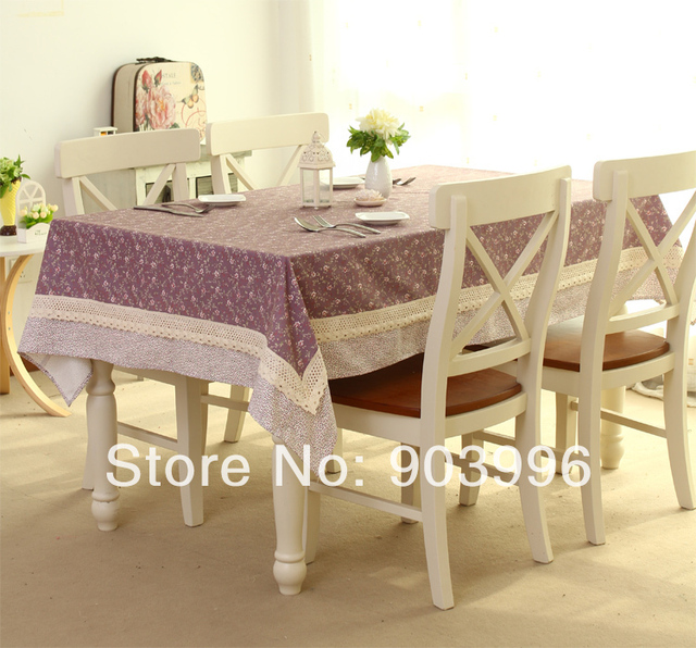 Free Shipping  Tendrils HuaYing Korean Tea Table Cloth Only 1pcs(140*220cm