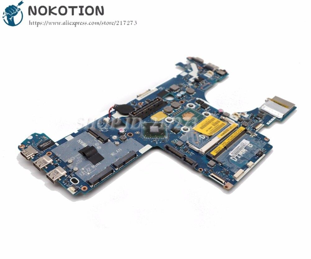 все цены на NOKOTION For Dell Latitude E6230 Laptop Motherboard QAM00 LA-7731P CN-0FJ4D9 0FJ4D9 MAIN BOARD I5-3320M CPU DDR3 онлайн