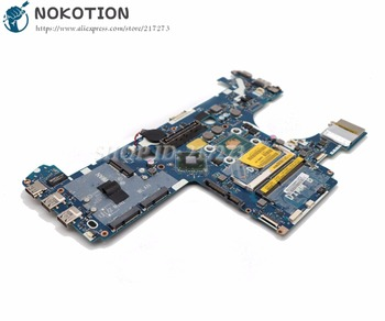 NOKOTION For Dell Latitude E6230 Laptop Motherboard QAM00 LA-7731P CN-0FJ4D9 0FJ4D9 MAIN BOARD I5-3320M CPU DDR3
