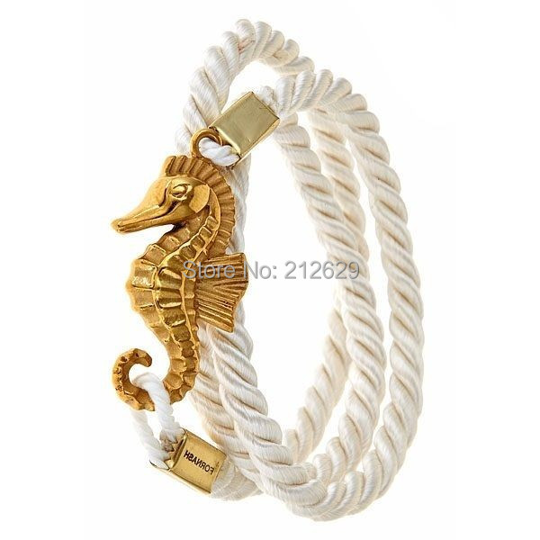 Hot Sale Nautical Rope with Sailor Anchor Men Bracelet Stainless Steel Accessories Jewelry uomini braccialetto di ancoraggio