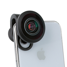 ULANZI 7.5mm HD Fisheye Phone Camera Lens with 17mm Lens Clip for iPhone Samsang Android HUAWEI Mobile Smartphone Fish Eye