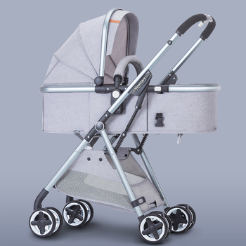 Luxury Baby Stroller 2 in 1 High-Landscape Pram Portable Folding baby Carriage Cheaper Baby Stroller 1