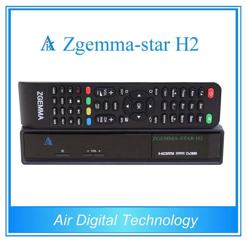 ФОТО For 5pcs Zgemma star H2 new product satellite tv receiver Combo DVB-S2+DVB-T2/C set top box