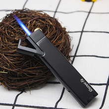 Metal Torch Turbo Lighter Mini Electronic Lighters gas Butane Cigar Cigarettes Smoking Accessories