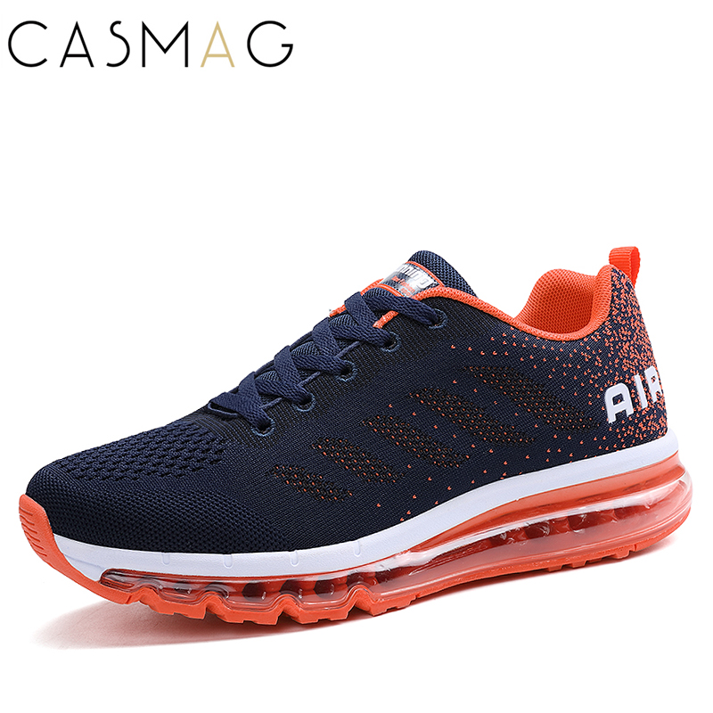 CASMAG Brand New Full Air Cushion Professional Men Athletic Shoes Outdoor Walking Sport Shoes Women Running Shoes Jogging Shoes