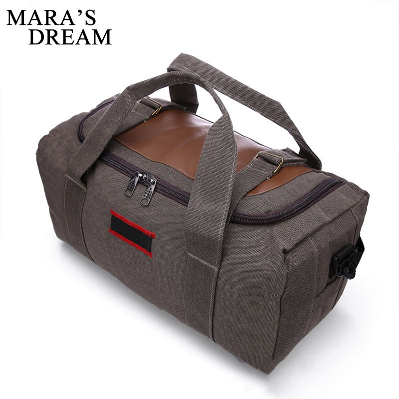 ec395be30d24 Mara s Dream Fashion Men Travel Bag Large Capacity Man And Women Luggage Duffle  Bags Canvas Folding Bag For Trip Travel Bags-in Travel Bags from Luggage ...