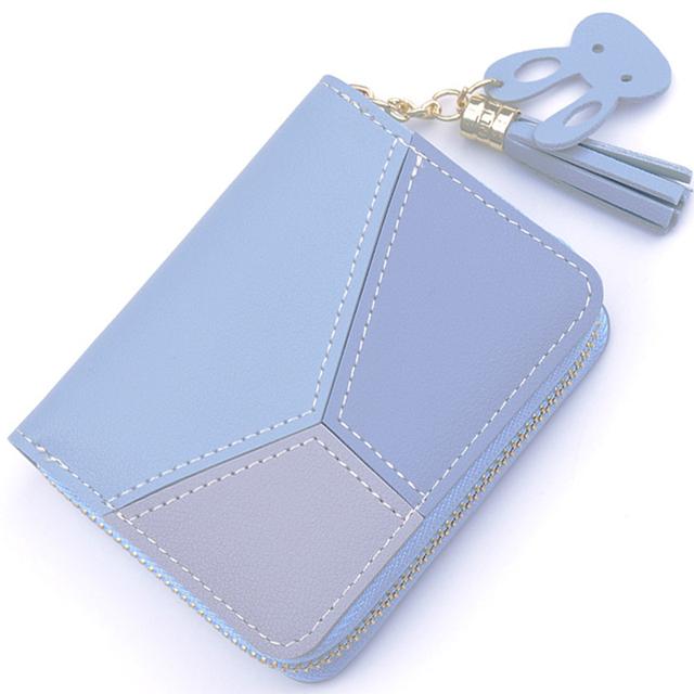 New student Short Women Wallets Zipper Purse