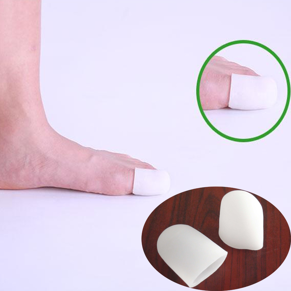 6Pcs Silicone Gel Bunion Splint Big Toe Separator Overlapping Spreader Protection Corrector Hallux Valgus Foot Massager D0157